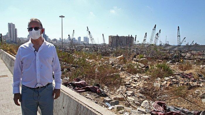Hakim Lebanon Mulai Selidiki Ledakan Dahsyat Pelabuhan Beirut