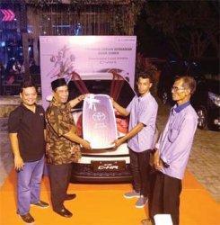 Warga Meulaboh Raih All New Toyota CHR
