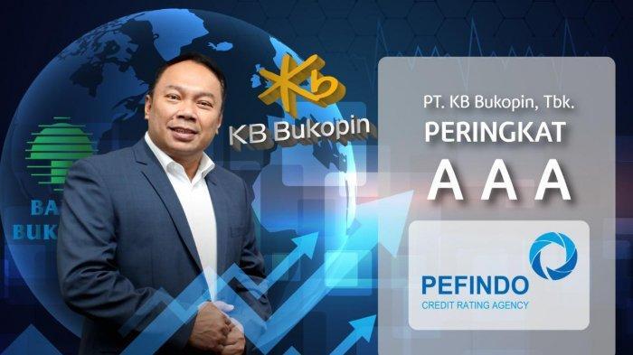Peningkatan Peringkat Tercepat, KB Bukopin Raih Ratting AAA