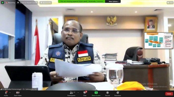 DirjenBina Adwil Kemendagri Safrizal ZA Minta Satpol PP'Jangan Kasih Kendor'Tegakkan Prokes