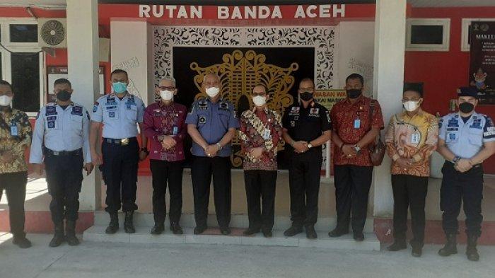Dirkamtib dan Kakanwil Kemenkumham Aceh Kunjungi Rutan Banda Aceh, Ini Penekanannya