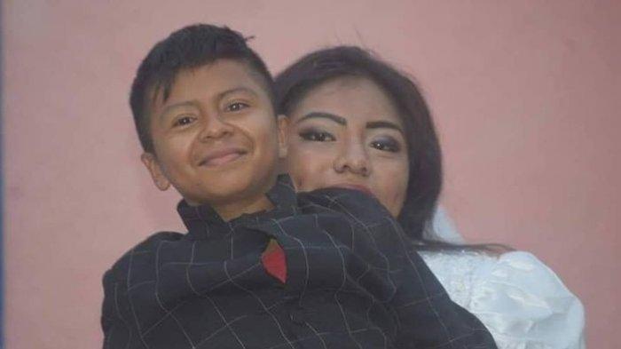Pria Kecil Ini Nikahi Wanita Dewasa, Ini Kenyataan Sebenarnya di Balik Pernikahan Tersebut