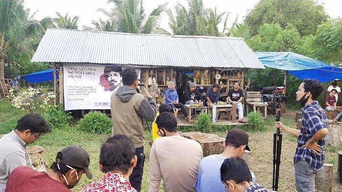 Aktivis Aceh Gelar Diskusi Merawat 16 Tahun Kematian Munir di Kamp Biawak Limpok, Bahas Temuan TGPF