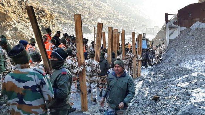 Korban Ledakan Gletser Himalaya Mulai Ditemukan, Ratusan Orang Masih Dinyatakan Hilang