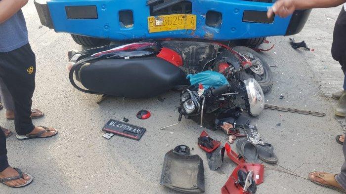 Pengendara Scoopy Asal Aceh Utara Meninggal Ditabrak Truk di Aceh Timur