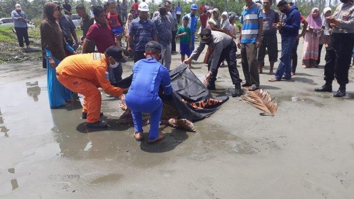 Mayat di Pantai Suak Puntong Nagan Raya, Ternyata Korban Tenggelam asal Aceh Barat