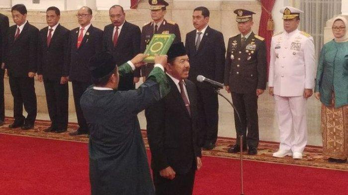 Presiden Jokowi Lantik Djoko Setiadi Jadi Kepala Badan Siber dan Sandi Negara