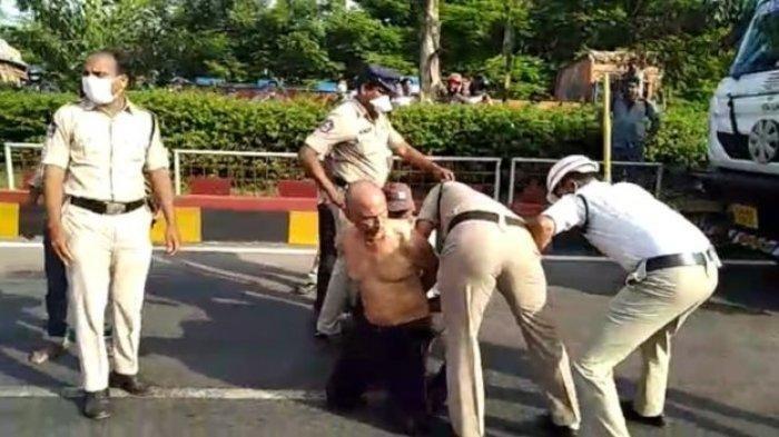 Dokter Rao Dipukuli Polisi dan Dikirim ke RS Jiwa, Gegara Bongkar Borok Penanganan Corona di India