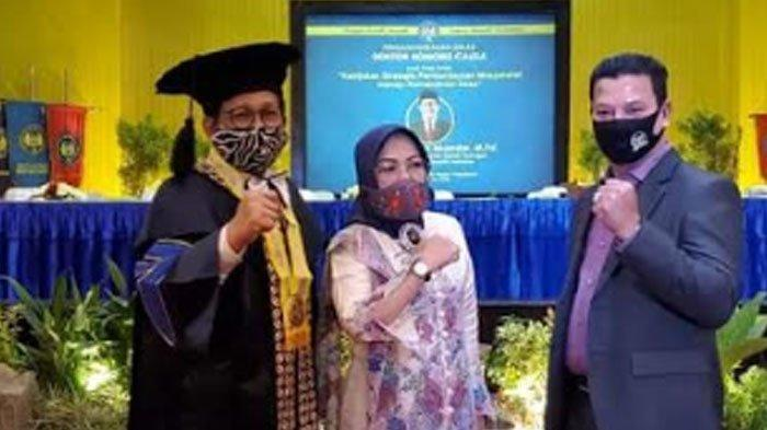 HRD Hadiri Penganugerahaan Doktor Honoris Causa kepada Gus Menteri di Universitas Negeri Yogyakarta