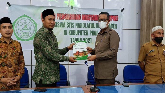 Pemkab Pidie Terima 27 Mahasiswa STIS NU Aceh
