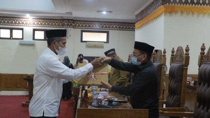 Aceh Barat Serahkan KUA-PPAS Perubahan, Ini Jumlah Usulan Anggaran