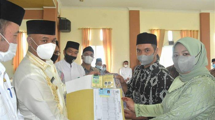 Dailami Launching Dokumen Nikah dan Kependudukan Terpadu Bagi Pengantin