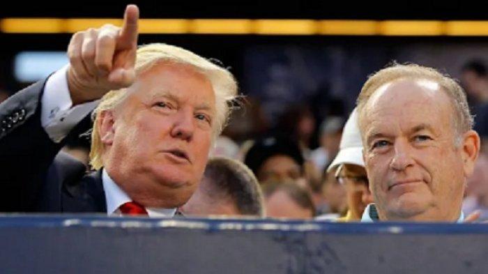 Trump dan Mantan Pembawa Acara Fox News Bill O'Reilly Akan Laksanakan Tur Berbicara