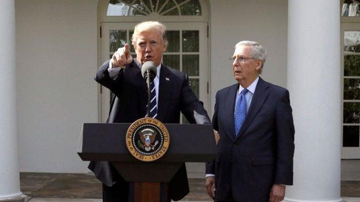Pemimpin Partai Republik di Senat Sepakat Trump Dimakzulkan, Bahkan Bisa Dihukum