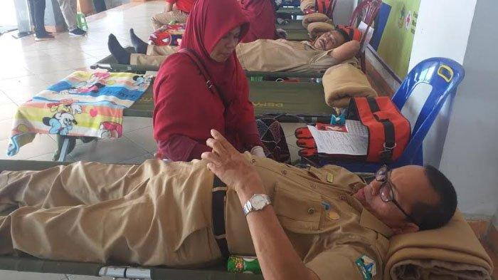 Pemkab Bireuen Sumbang Darah 110 Kantong untuk UTD RSUD Bireuen