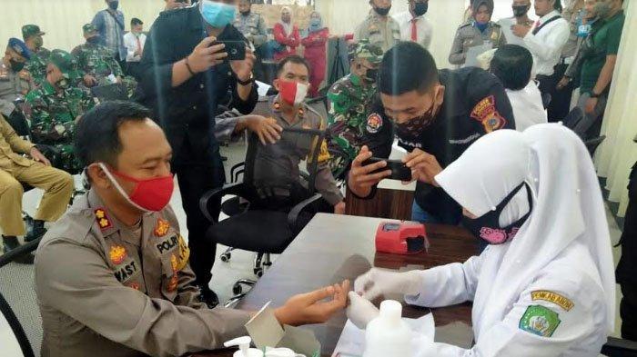Polres Abdya Sumbang Darah 21 Kantong Jelang HUT Bhayangkara