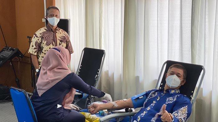 BPBA Kumpulkan Darah 44 Kantong pada Aksi Donor Perdana Tahun 2021