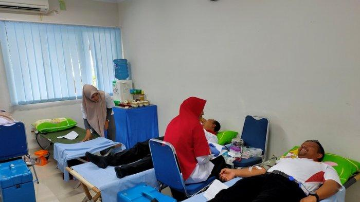 PMI Pidie Jaya Hasilkan Darah 30 Kantong dari Pendonor