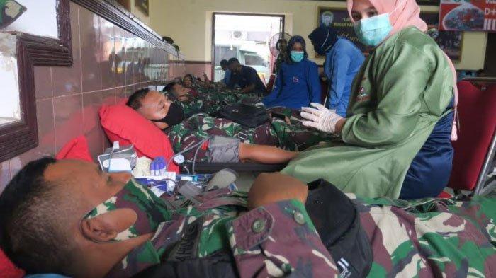Selama Dua Hari, Korem Lilawangsa Kumpulkan Darah 332 Kantong