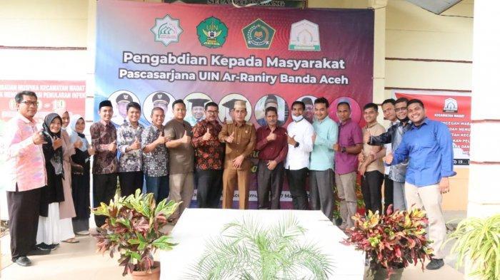 Dosen dan Mahasiswa Pascasarjana UIN Ar Raniry Lakukan Pengabdian di Aceh Timur