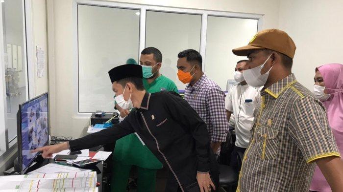 Sidak Rumah Sakit, Komisi V DPRA Temukan Alat Kesehatan Ruang Pinere Masih Kurang