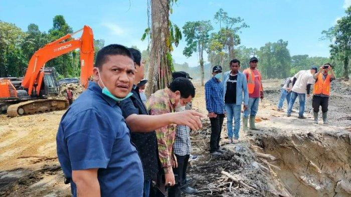 Tim Pansus DPRA Tinjau Proyek Multiyears di Simeulue, Jalan Sinabang - Sibigo Hingga Irigasi