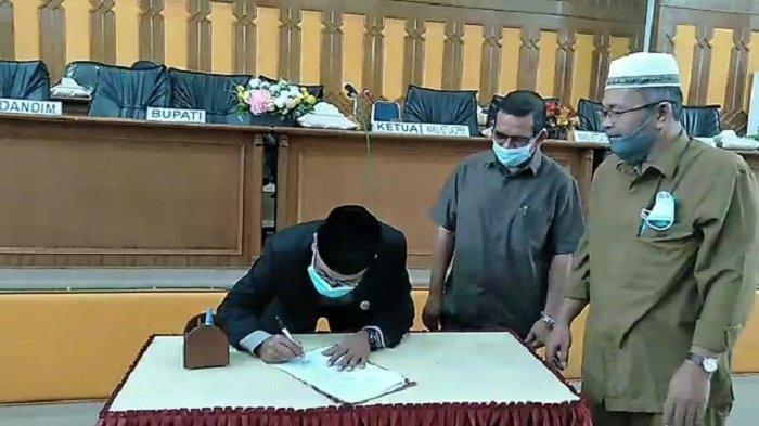 DPRK Aceh Selatan Gelar Rapat Paripurna Pergantian Wakil Ketua