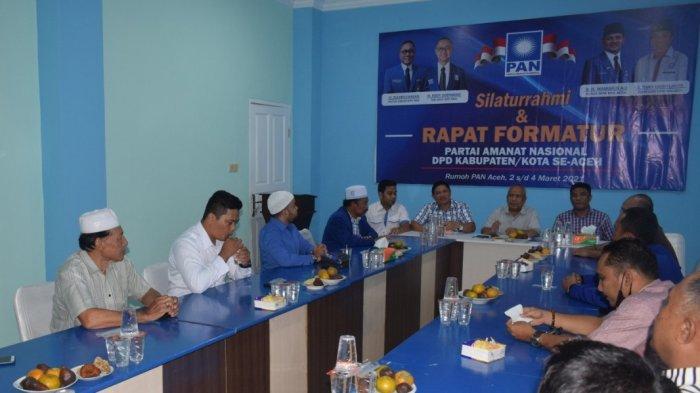 PAN Aceh Fasilitasi Formatur DPD Gelar Rapat Pemilihan Ketua