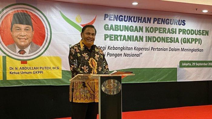 Abdullah Puteh Pimpin GKPPI, Bangkitkan Koperasi Produsen Pertanian