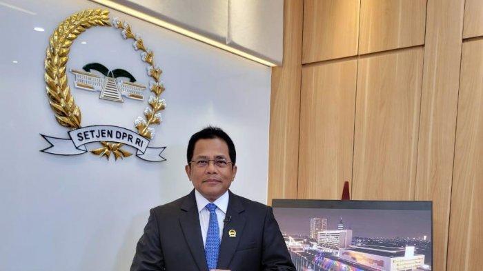 Sekjen DPR RI dan Sutradara Erros Djarot Bicara dalam Halal Bi Halal IMPAS Jakarta