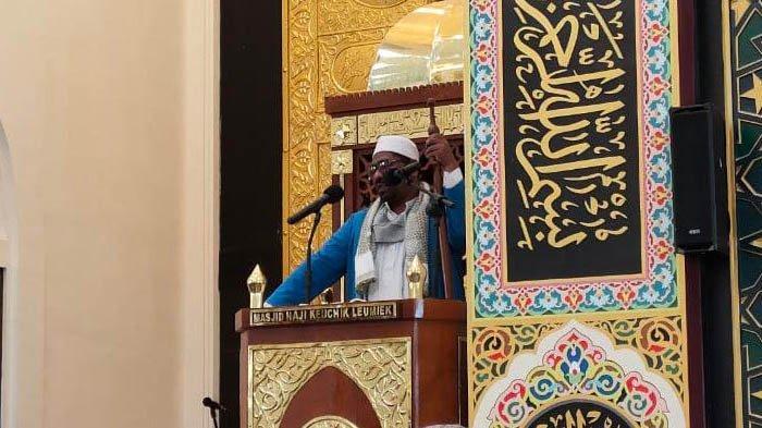 Jumat di Masjid HKL: Siapa Yang Tidak Menjadikan Alquran sebagai Pedoman Maka Ia Dikendalikan Setan
