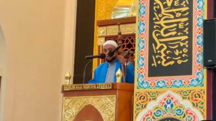 Jumat di Masjid HKL: Empat Sebab Muslim Sulit Beribadah, Cinta Dunia sampai Terpengaruh Manusia Lain