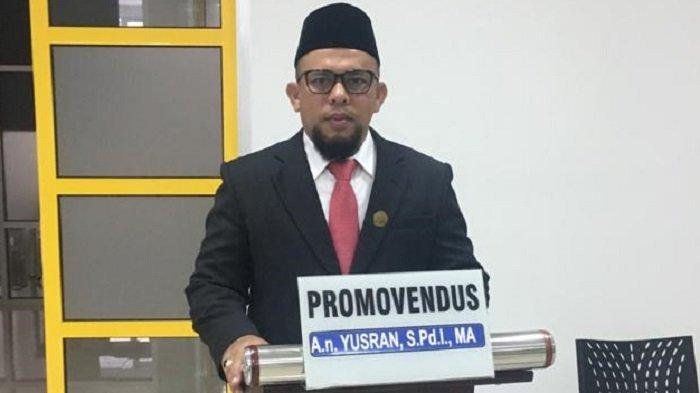 Dr Yusran Yunus, Dari Ketua Fraksi PAN DPRK Aceh Besar hingga Meraih Gelar Doktor