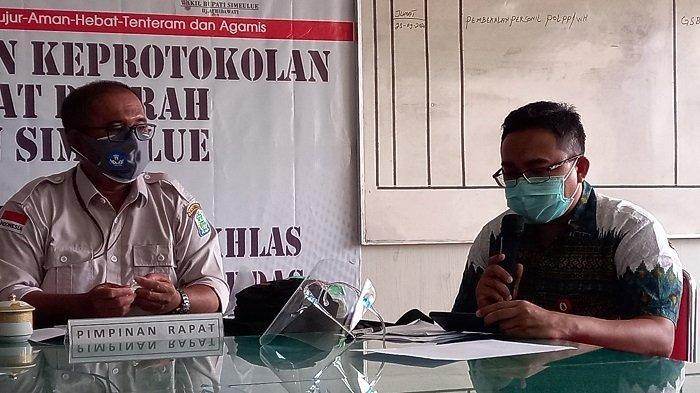 Kasus Covid-19 di Simeulue Meningkat, Pihak RSUD Tutup Poliklinik