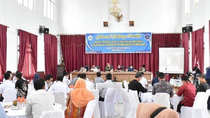 Plt Bupati Bener Meriah Gelar Rapat Kajian Pembangunan Dry Port