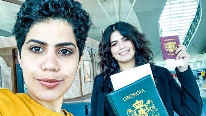 Mengaku Takut Dibunuh dan Kabur ke Georgia, Dua Gadis Arab Saudi Kini Dapat Paspor dan Rumah Baru