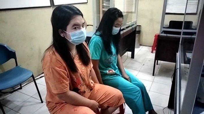 Dua Wanita Diringkus Polisi,Asyik Pesta Narkoba di Kosan, Sabu Seberat 0,47 Gram Ikut Disita