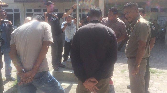 4 Pemuda dan 1 Wanita Penjual Mi Ditangkap di Lhokseumawe, 2 Orang Malah Merokok di Sel WH