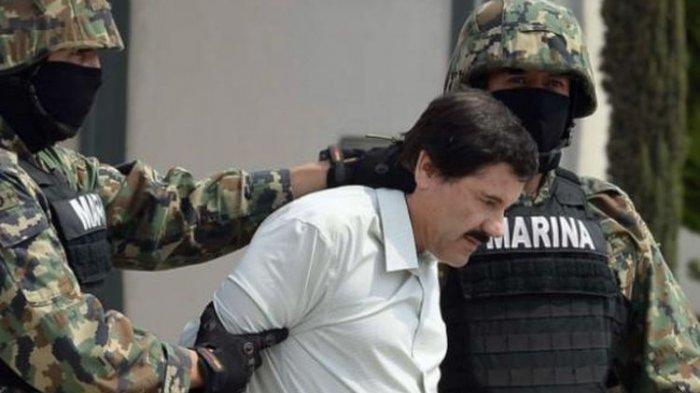 Rekam Jejak Kriminal El Chapo, Bandar Narkoba Terbesar Dunia, Lihai Kabur dari Penjara