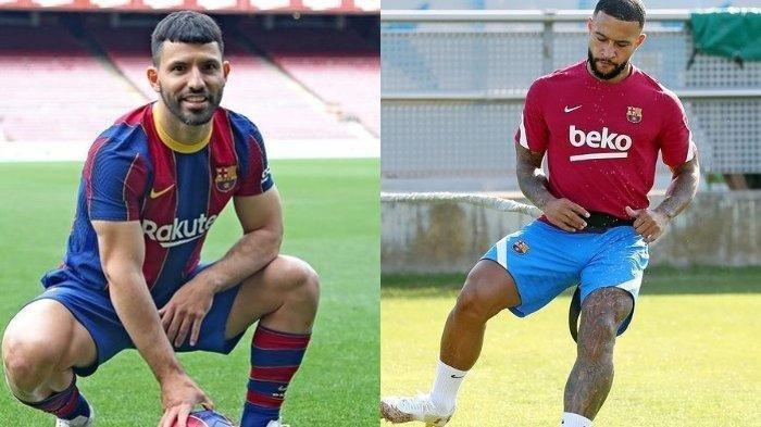 Alasan Barcelona Datangkan Sergio Aguero dan Memphis Depay, Kombinasi Striker Berpengalaman