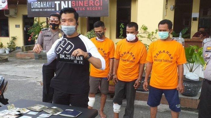 Mencuri Sepmor di Pekanbaru, Dua Pria Asal Aceh Ditembak Polisi