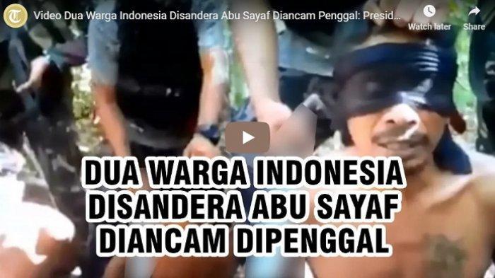 Polri Siapkan Personel Bebaskan 2 WNI yang Disandera Abu Sayyaf, Keluarga Tak Mampu Bayar Tebusan