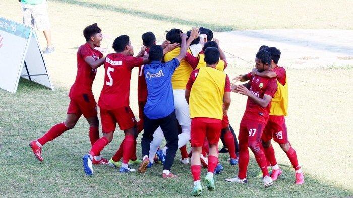 Aceh ke Final Lagi Setelah 28 Tahun, Kamis Sore Berebut Emas Sepak Bola dengan Papua