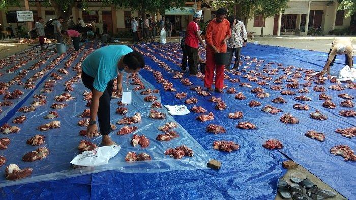 Lazismu Bagikan Daging Kurban ke Warga Lhokseumawe dan Aceh Utara