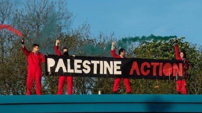 Pendukung Palestina di Inggris Duduki Pabrik Drone di Leicester, Pasok Pesawat tak Berawak ke Israel