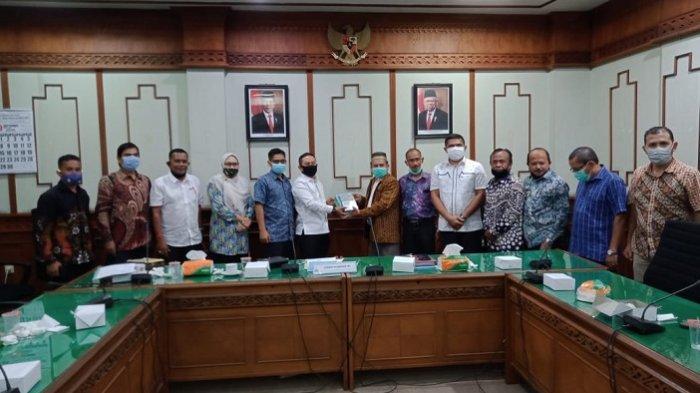 PKPM Aceh dan Komisi III DPRA Berkomitmen Dukung Pelaksanaan Qanun Lembaga Keuangan Syariah