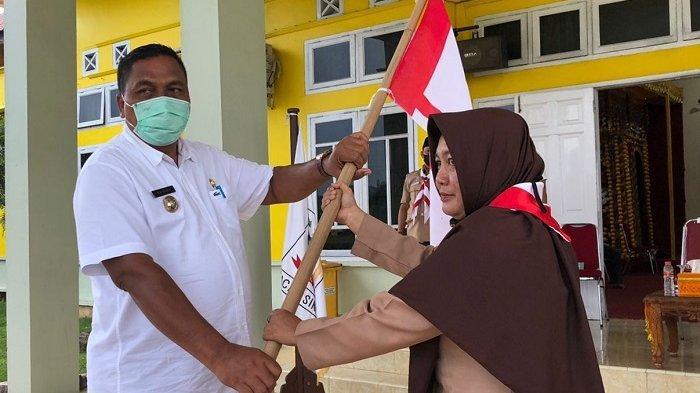 Bupati Dulmusrid Lepas Kontingen Kwarcab Pramuka Aceh Singkil Ikut Jambore Daerah, Ini Pesannya
