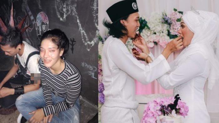 Kisah Gadis Menikah dengan Anak Punk, Dulu Iseng Foto Bareng, Kaget Kini Jadi Suaminya