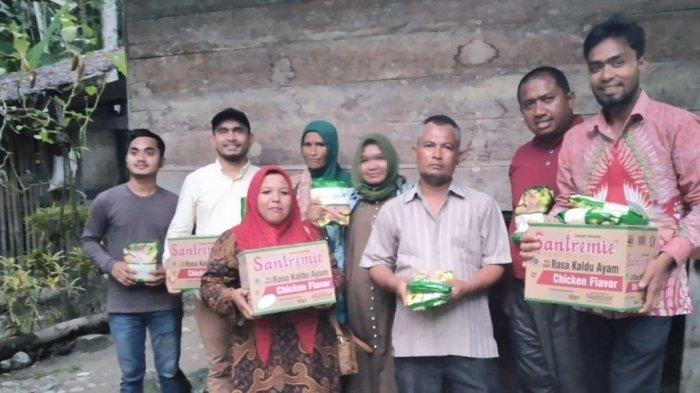 Direktur Eddie Foundation dan Presiden KKMI Libya Bantu Korban Banjir Aceh Utara