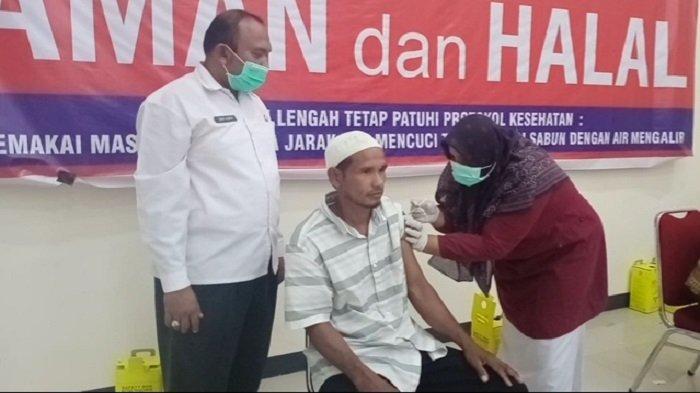 Tim Satgas Covid-19 Pidie Jaya Targetkan Vaksin Tahap Dua untuk 164CJH Selesai Dalam Dua Hari